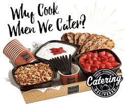 Corner Bakery Cafe Catering Menu