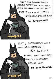 Batman Vs Superman Logic | WeKnowMemes via Relatably.com