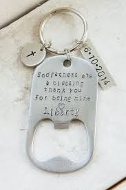 father hand sted bottle opener baptism or christening gift pas gift for baptism