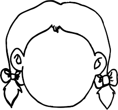 Small Picture Empty Girl Face Coloring Page Wecoloringpage