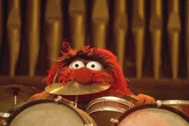 animal muppet drums. Brilliant Animal Animal Bursting Through An Old Home Movie Of His Intended Muppet Drums O