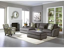 Light Gray Living Room Furniture Oasis Grey 2 Pc Sectional American Signature Furniture