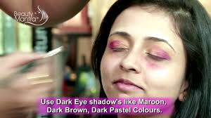 how to apply eye makeup for big eyes tips by rachna video dailymotion