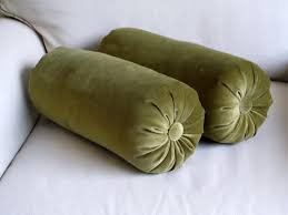 Olive Green Accessories Living Room Decor Tips Creative Bolster Pillows For Sofa Cushion Home