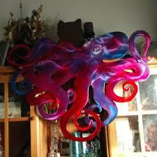 sea animals metal wall art octopus home