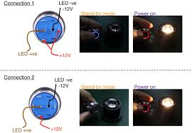 bi color anti vandal led switch 16mm push button enclosure here s the pin out diagram