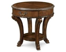 a r t furniture old world 28 round end table