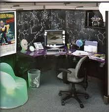 Best office cubicle design Workstations Chalkboard Cube office cubicle designs Cubicle Makeover Masculine Office Office Cube Pinterest 286 Best Coolest Office Cubicle Designs Images Office Decor
