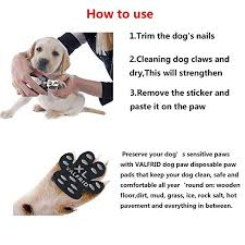 amazon valfrid dog paw protector rugged anti slip 24 pieces disposable self adhesive resistant dog shoes booties socks replacemen s pet supplies