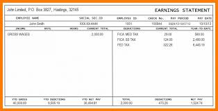 Payroll Pay Stub Template Free 021 Check Stub Template Free Fake Pay Collection Of