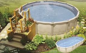 above ground round pool with deck. Impressive Image Of Backyard Landscaping Decoration Using Above Ground  Round Pool Deck Ideas : Contempo Picture Above Ground Round Pool With Deck