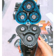 Máy cạo râu đa năng chống nước SHAVER 4D thế hệ 1,thế hệ 3 có màn hiển thị  pin và chỉnh tốc độ cạo giá cạnh tranh