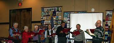Rotary Club of Santa Fe - Tony Ortiz, Jerry Nelson, Dick Schacht, Don  Raish, Priscilla Zimmerman, Bette Betts, Karen Wells, and Jan Westrick from  the Sangre de Christo Choral blessed us with