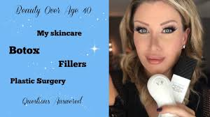 over 40 beauty my skincare routine thoughts on botox and fillers you