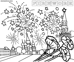 Small Picture fireworks coloring pages preschool Archives Best Coloring Page