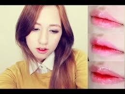 korean ulzzang grant lips 3 ways tutorial