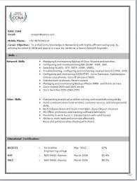 Cisco Network Engineer Sample Resume Voip Format Vinodomia Photo