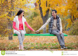 Photo Of Cute Couple Sitting On The ...