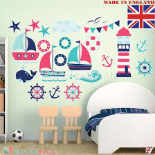 nautical wall stickers coastal sailing
