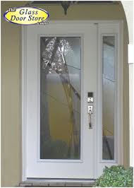 Modern Patio Doors Modern Front Door With Glass Insert And Sidelight Very Private