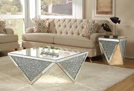 mirrored coffee table. Blaker Mirrored Coffee Table C