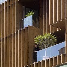 office building facade. lp2 completes tehran office block with louvred wooden facades building facade