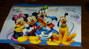 how to receive autographed postcards from your favorite disney characters