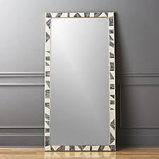 floor mirror. Grace Bone Inlay Floor Mirror