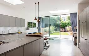 Floor-to-ceiling sliding doors