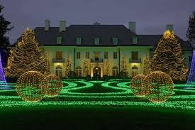 tree lighting indianapolis. 16, 2017 Photo, The Lilly House At Newfields Is Part Of Winterlights Holiday Light Display On Museum\u0027s Grounds In Indianapolis. Tree Lighting Indianapolis