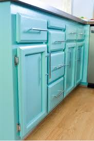 get a perfect finish on your cabinets by taking the time to paint them right