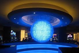 planet hollywood blue sphere chandelier