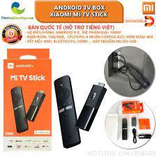 Bản quốc tế] Android TV Box Xiaomi Mi TV Stick tìm kiếm bằng giọng nói, hỗ  trợ tiếng việt - Bảo hành 6 tháng - Shop Thế Giới Điện Máy Thế giới