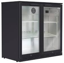 husky hus c2 840 blk 190l bar fridge
