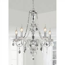 Classic crystal chandelier - with light bulbs