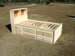 storage bed twin bed plans with storage twin bed with storage best captains bed ideas on