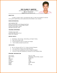 sample curriculum vitae for hotel and restaurant management sample curriculum vitae for hotel and restaurant management resume sample hotel management trainee curriculum vitae for