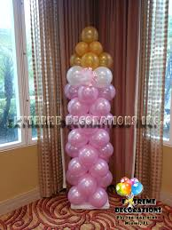 Baby Bottle Balloon Decoration Party Decorations Miami Baby Shower Balloon Decorations 7