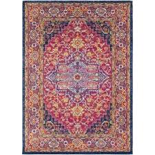 oval rugs outstanding rug pink orange area braided 8x10