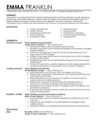 Resume public relations objective resume objective part pr resume