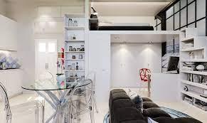 small 29 sqm studio apartment in white