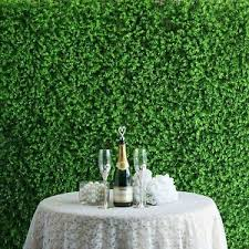 Details About 4 Panels Artificial Boxwood Hedge Baby Violet Leaves Green Garden Wall Mat