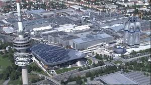 Bmw World Olympic Park Munich Germany Hd Stock Video 915 327