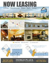 office space for lease flyer for lease alexandria land man