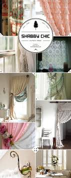 Shabby Chic is Still Chic for Those Who Love the Look! Window Treatment  Style: