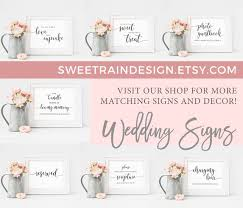Wedding Website Insert Cards Editable Template Website Cards