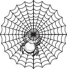 Small Picture Free Printable Halloween Spider Coloring Page for Kids 2