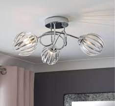 argos home alana 3 light ceiling light