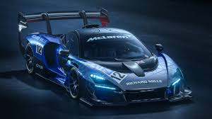 Mclaren Senna Gtr Hypercar Indy Driver Takes It Out On The