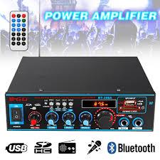 <b>HIFI 2CH 800W</b> Audio Power Amplifier FM USB SD Mini Mic ...